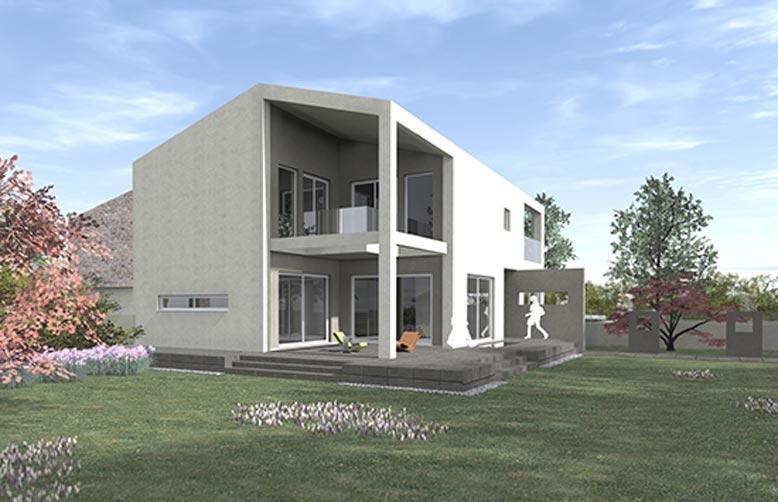 La grande villa kager italia for Piani a due piani in florida