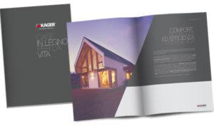Brochure Kager Italia case in legno