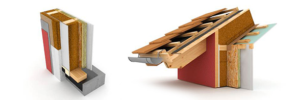 kager case in legno prefabbricate sistema bio