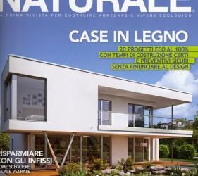 kager costruzione case bioedilizia redazionale casa naturale giugno 2012 copertina