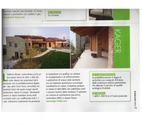 kager costruzione case bioedilizia redazionale casa naturale giugno 2012 pagina