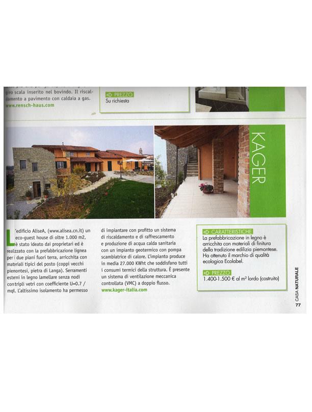 Kager italia prezzi sulle case in legno case in legno for Kager italia
