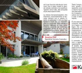 kager costruzione case bioedilizia redazionale comunicare legno n5 pagine 32 33