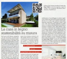 kager costruzione case bioedilizia redazionale panorama economia aprile 2012