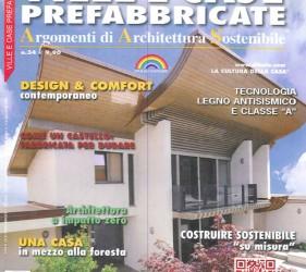 kager costruzione case bioedilizia redazionale ville e case prefabbricate n34 copertina