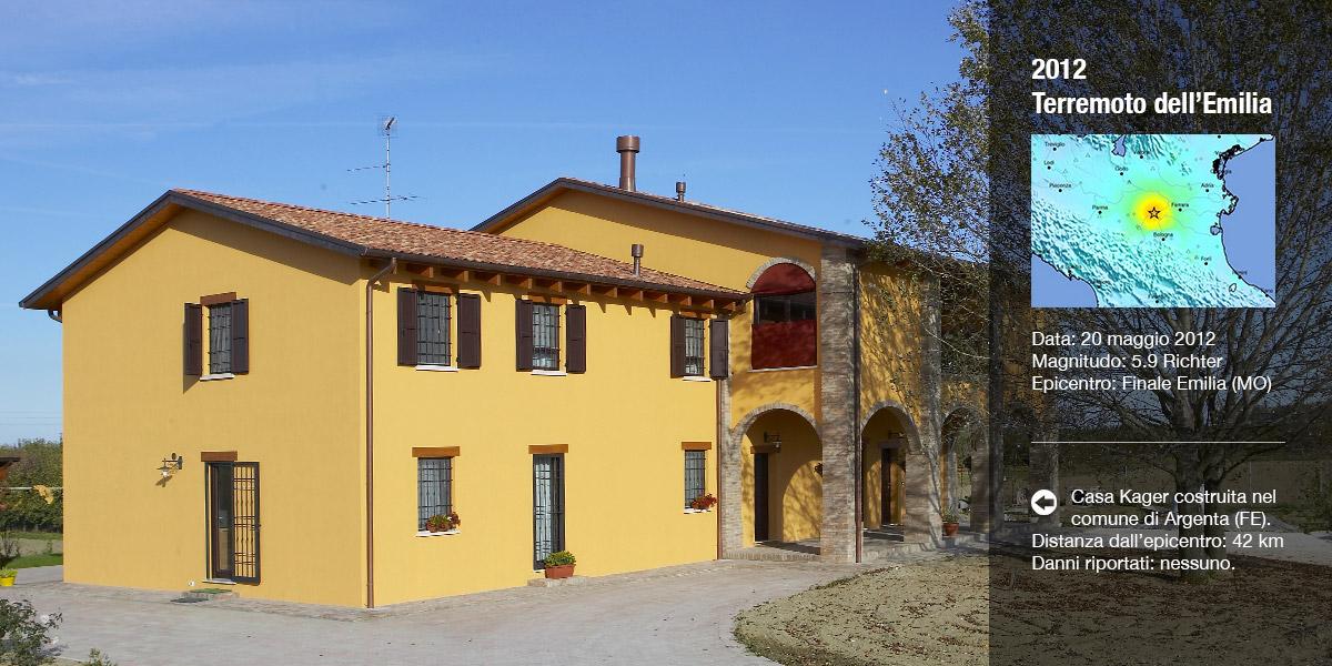 Case antisismiche in legno kager italia for Casa in legno tradizionale