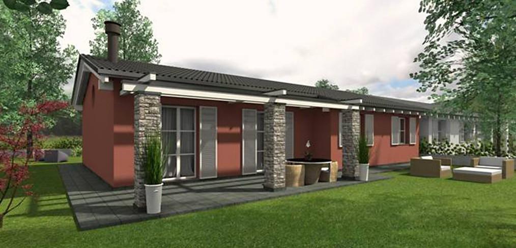 Progetti case moderne su un piano with progetti case for Un costo di costruzione della casa di legno