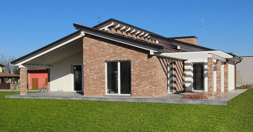Open day case in legno verona e parma kager italia for 2 piani casa in stile ranch