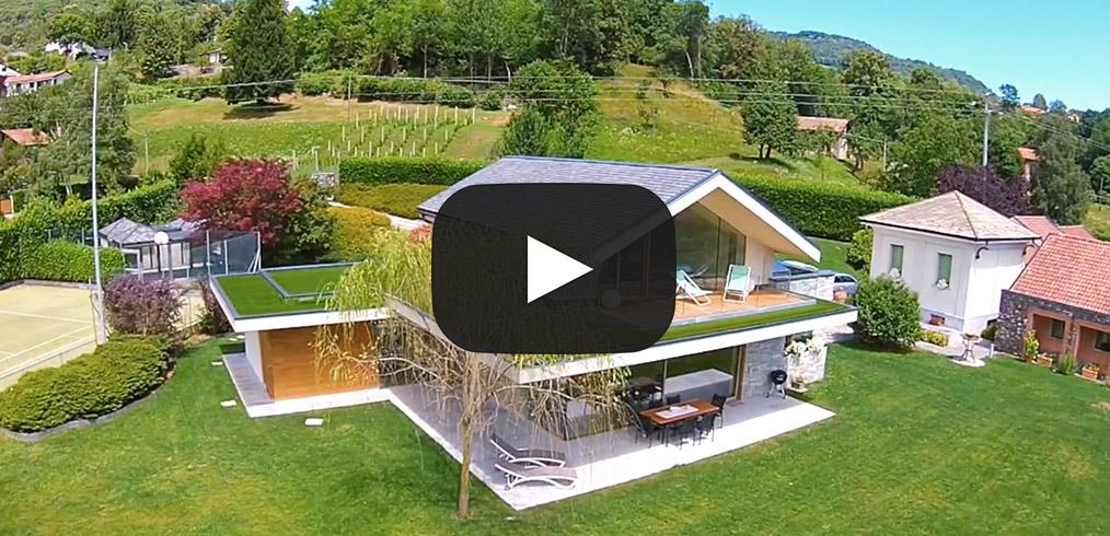 Video case in legno la nuova realizzazione kager italia for Case in legno italia