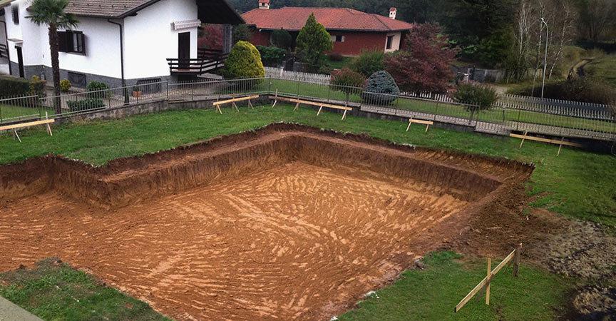 Dal terreno alla casa in legno il basamento kager italia for Case in legno senza fondamenta