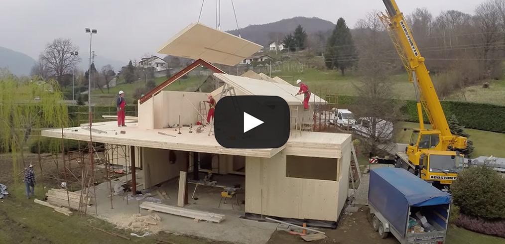 Video – Quanto tempo serve per costruire una casa in legno?