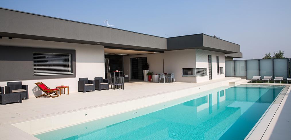 La nuova casa in legno Kager di Verona: stile, domotica e bassi consumi