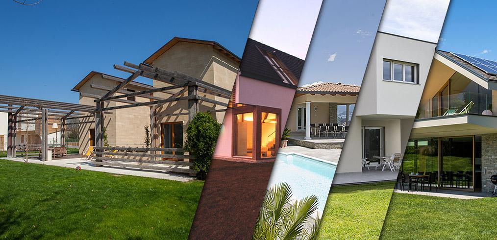 Moderno naturale classico tutti gli stili delle case in for Case in legno senza fondamenta