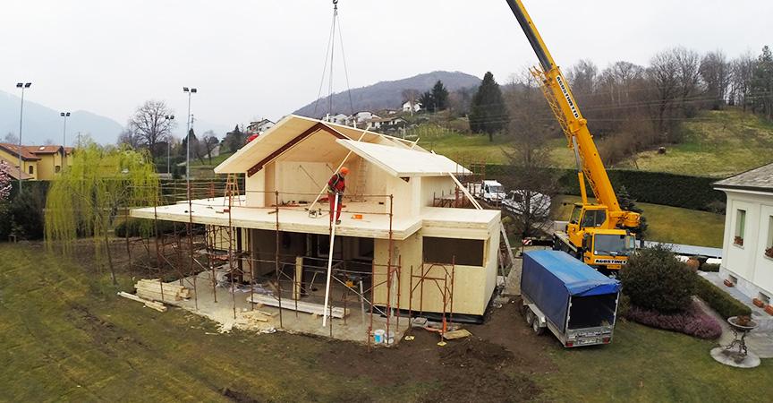 7 passaggi per costruire una casa in legno kager italia for Case in legno italia