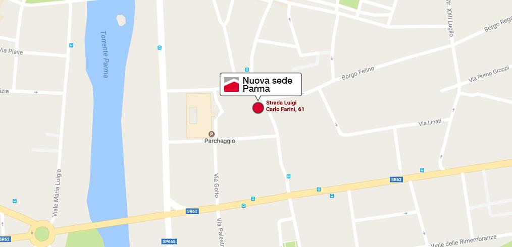 Nuova sede commerciale a Parma