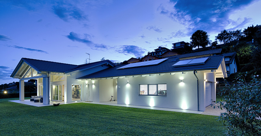 Kager case in legno fotovoltaico rinnovabili