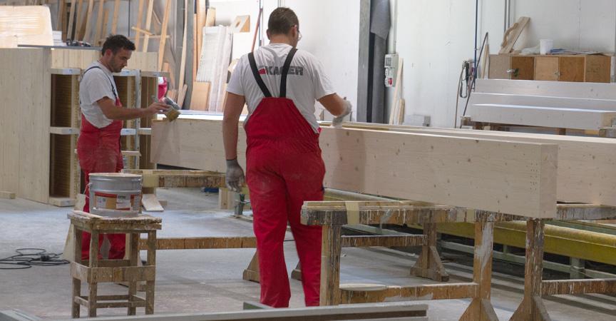 Costruzione case in legno produzione ecologia Kager