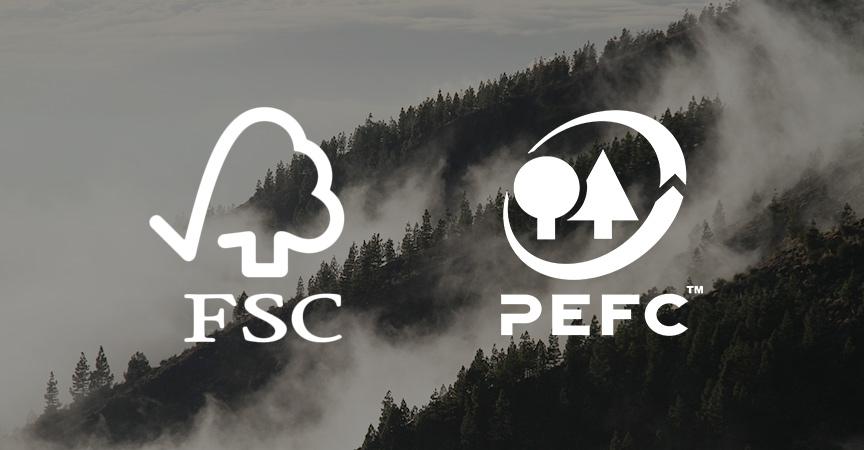 Case in legno certificazioni FSC PEFC Kager