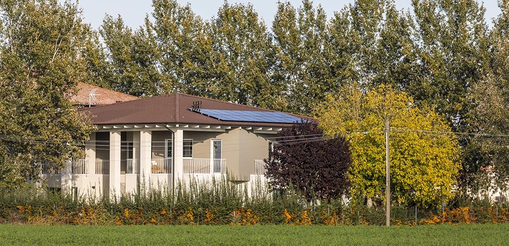 Casa fresca e bassi consumi anche d'estate? Si può fare, con una casa in legno
