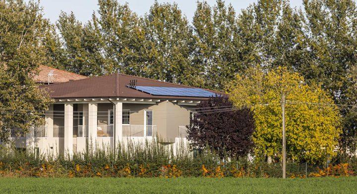 Kager case in legno fresche d'estate