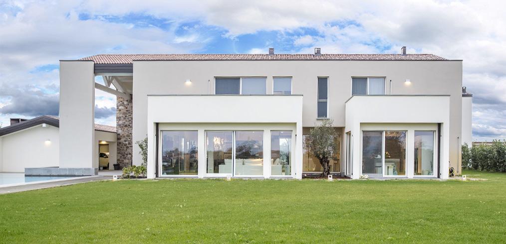 La continua crescita delle case in legno in Italia