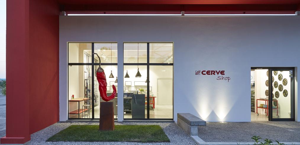 CERVE sceglie Kager Italia per il suo nuovo showroom
