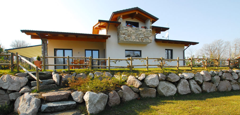 Case in legno Kager Varese Leggiuno su misura