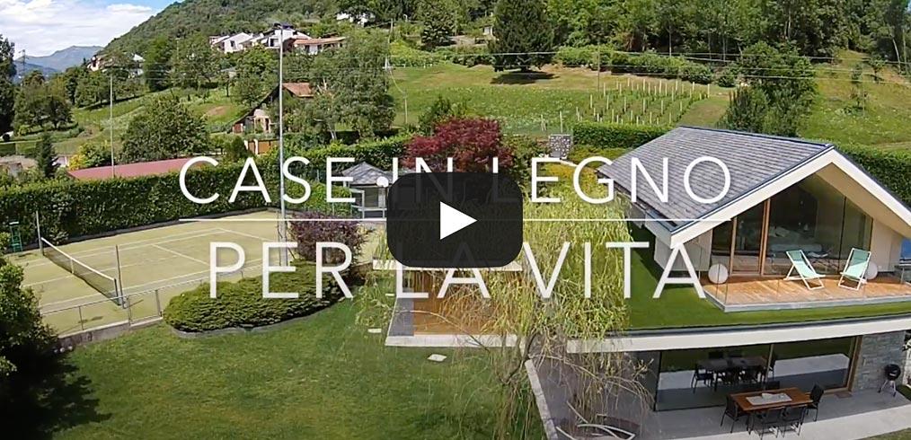 Casa in legno a Novara – Il video