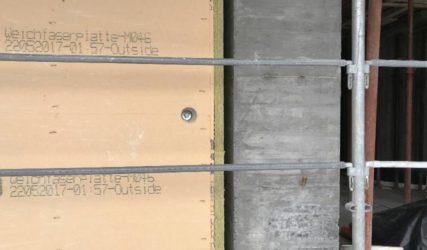 Spazi per l'aerazione del legno