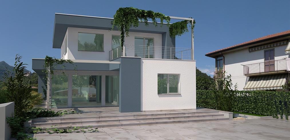 Natura e stile americano: è la nuova villa in legno di Varese