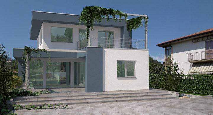 Case in legno prefabbricate Varese nuova villa Kager