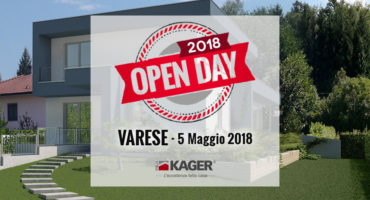Case in legno prefabbricate Varese open day Kager