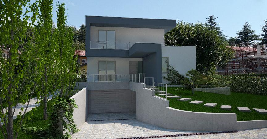 Natura e stile americano per la nuova villa in legno di for Ville moderne con vetrate