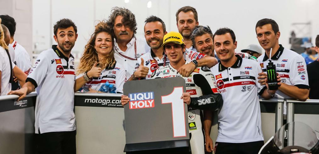 Kager sponsor del pilota Niccolò Antonelli del team Sic58
