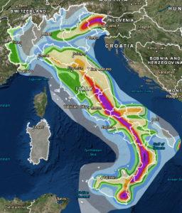 Aree rischio sismico costruzione case antisismiche