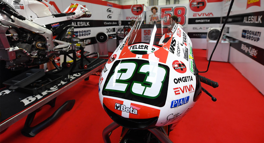 MotoGP Box Nicco23 Sic58 Kager