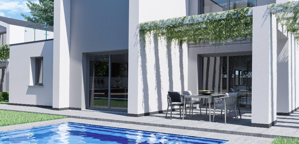 """Eleganza e tecnologia: Kager Italia costruisce le Ville """"Golf House"""" a Como"""