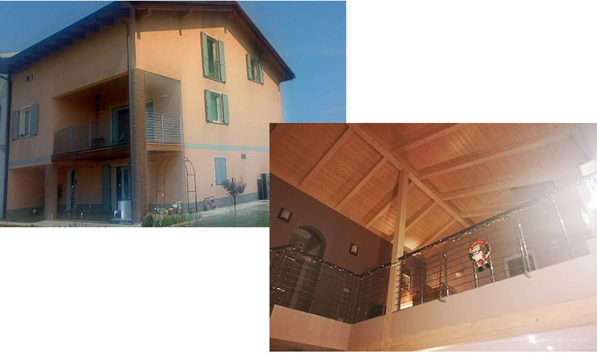 Casa in legno Kager Italia provincia Reggio Emilia