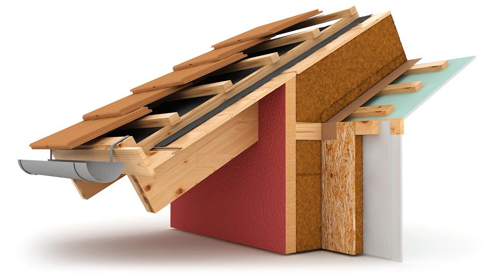 Fibra di legno alta densita case in legno Kager Italia