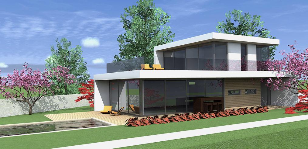 Luminosità e stile moderno per la nuova villa in legno Kager di Airuno, Lecco