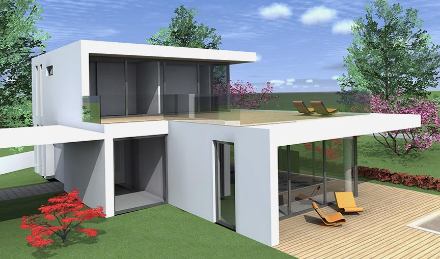 Villa-in-legno-moderna-Lecco-Kager-Italia
