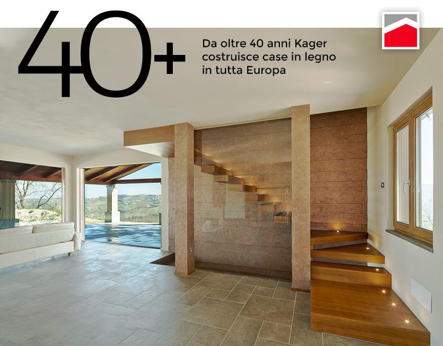 Storia Kager Italia costruttore case in legno