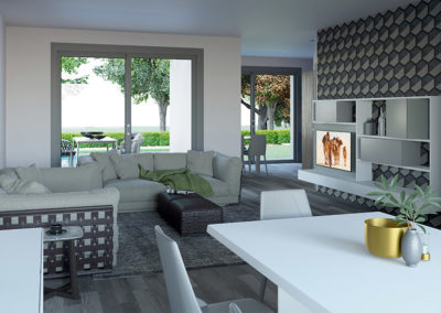 Interni-design-ville-in-legno-Kager-Italia-Como